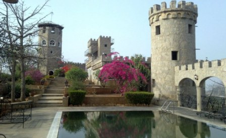 Karuja Castle in Nigeria