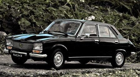 Peugeot 504: Mumuni's first car, which he inherited from his late father, who bought the car brand new in 2988 for N10,800